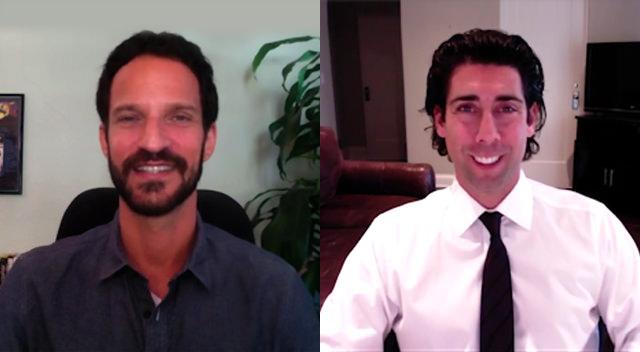 Commercial Real Estate Advisor Josh Gorin with JDCOT Founder Marc Luber