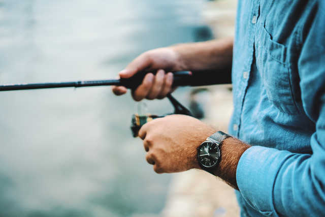 guy fishing is compared to legal recruiting